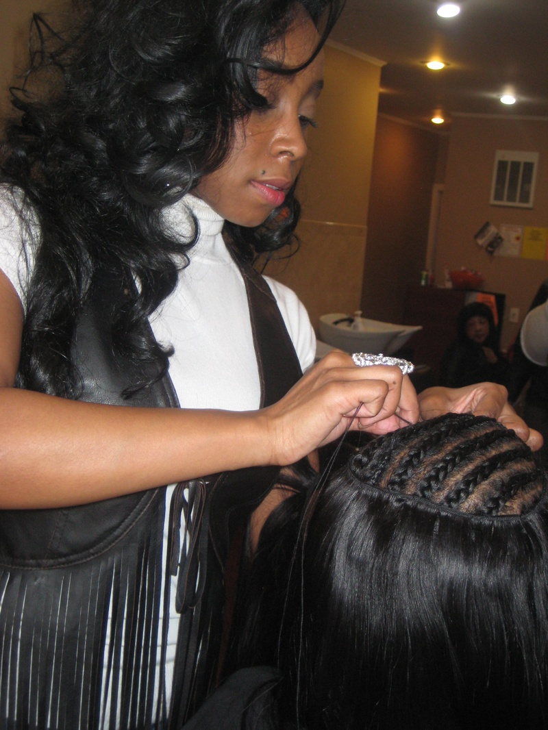 Invisible Part Weave Sabrina The Hairstylist Short